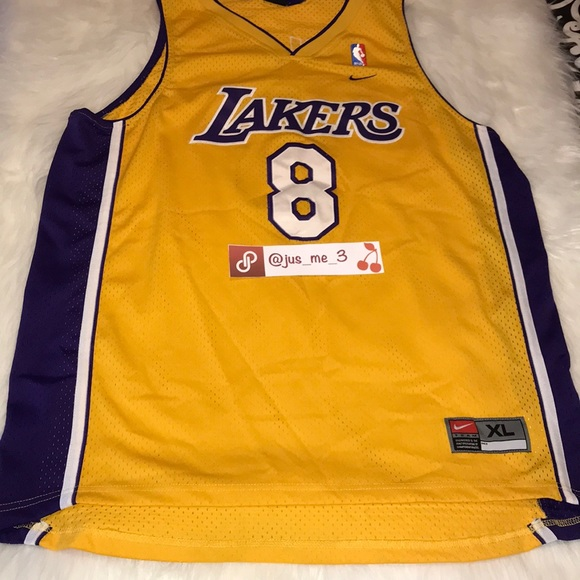 new concept d39f1 19803 Nike XL Lakers Vintage Jersey #8 KOBE Bryant ❤️ HP